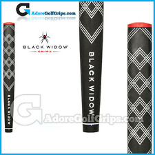 BLACK Widow FINISHER JUMBO TONDA Putter Grip -- Nero / Bianco / Rosso + NASTRO libero