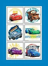 12 Disney Cars 2 Movie Temporary Tattoos Party Favors
