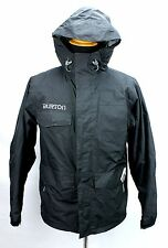 Burton Black Mild Weather Hooded Jacket Mens Small
