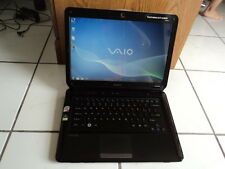 Sony Vaio VGN-CS110E 14.1(Intel Core2 Duo/250GB HD/4GB Ram/Win7/Office2013)Great