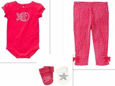 GYMBOREE BY THE SEASHORE  GIRLS OUTFIT WITH SOCKS NWT 18-24  MONTHS-