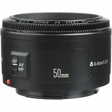 Canon 50 mm 1.8 II Autofocus Lens EF50mm F/1.8 II Brand New For T6i T5i 70D