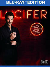 Lucifer: The Complete First Season (Blu-ray Disc, 2016, 3-Disc Set)