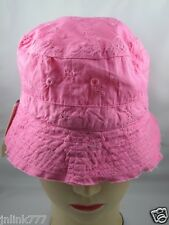 B50:New $6.99 WonderKids Reversible Bucket Hat for Toddlers from USA-Pink