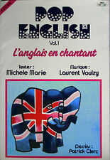 "LAURENT VOULZY - EP ""POP ENGLISH - VOL. 1"" RÉÉDITION 1986"