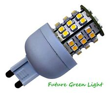 G9 48 SMD LED 240V 3.5W 210LM DIMMABLE WARM WHITE BULB ~45W