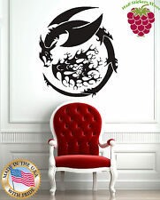 Wall Stickers Vinyl Decal Mural Fantasy Mithological Animal Dragon  z330