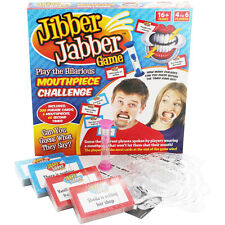 JIBBER JABBER GAME STUDENT ADULTS KIDS BIRTHDAY FAMILY FUN BOARD PARTY GAME