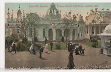 Franco British Exhibition, Louis XV Pavilion Postcard, B441