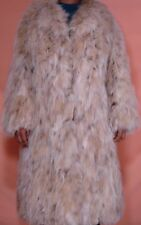 Maximilian Bloomingdale's Lynx Fox Fur Coat Size 8-10 Free shipping