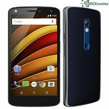 BNIB MOTOROLA MOTO X FORCE XT1580 32GB BLACK FACTORY UNLOCKED 4G/LTE 3G GSM NEW