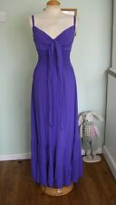 PER UNA LONG VINTAGE GYPSY/BOHO DRESS SZ 12 MAXI/LAGENLOOK/70'S/HIPPY/FOLK