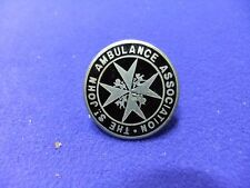vtg badge st johns ambulance association lapel  enamel 1930s 40s ?
