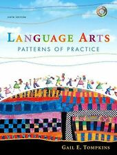 Language Arts: Patterns of Practice (6th Edition) With DVD Gail Tompkins Hardbac