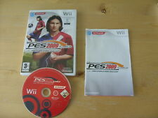 Nintendo Wii GAME-PRO EVOLUTION SOCCER 2009-PES 2009 * Gratis UK P & p *