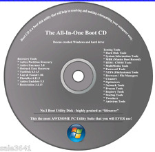 HP & Dell Computers Repair/Recovery Disc for Window 7, Vista , XP 32 & 64-bit
