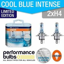 Limited Edition! Osram H4 Cool Blue Intense 64193CBL BILUX H4 x 2 +30% LIGHT!