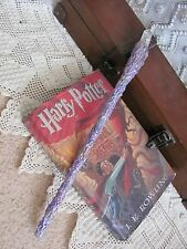 Handmade Magic Wand Mythical Wizard Harry Potter Wicca Fairy Crystal OOAK #27