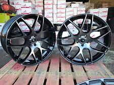 22'' Turbine Style BLACK PEARL Alloy Wheels Alloys Rims fit Vogue Sport Discovey