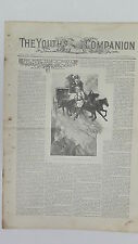 Original Antique Newspaper & Advertising, The Youth's Companion, April 10 1902