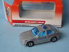 Matchbox Astra GTE Police Car Silver Body Toy Model Car 65mm Boxed