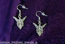 BUY 3 GET 1 FREE~FAIRY ANGEL WING SILVER EARRINGS~BIRTHDAY GIFT FOR HER MOM GIRL