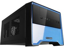 RAIDMAX Element ATX-101BUP Black/Blue Steel / Plastic Mini-ITX Tower Computer Ca