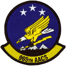 USAF 965th AIRBORNE AIR CONTROL SQUADRON PATCH