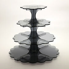 4 Tier Cupcake Stand in 5mm Acrylic (Professional)