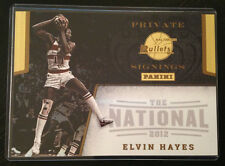 2012 Panini National ELVIN HAYES Private Signings 5x7 Card Unsigned RARE Bullets