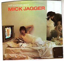 MICK JAGGER: JUST ANOTHER NIGHT / TURN THE GIRL LOOSE 45 RPM ROLLING STONES