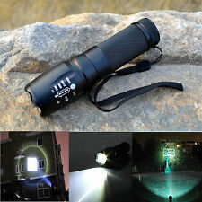 10000Lumen Tactical Flashlight T6 Cree Led XML Military Torch Zoomable X800 G700
