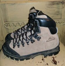MONTRAIL ITALY LADIES HARDCORE MOUNTAINEERING HIKING BOOTS BROWN 7 M EUR 38