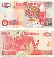 Sambia / ZAMBIA - 50 Kwacha 2009 UNC - Pick 37h