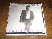 "BRUCE SPRINGSTEEN 45 TOURS 7"" HOLLANDE ONE STEP UP"