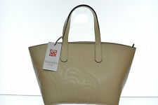 BRACCIALINI BORSA DONNA B10412 LINEA NINFEA IN PELLE COL. BEIGE BAG FOR WOMEN