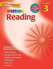 Spectrum Ser.: Spectrum Reading, Grade 3 by Spectrum Staff and Carson-Dellosa Pu