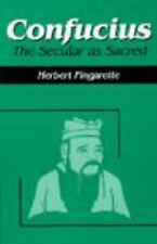 Confucius : The Secular As Sacred by Herbert Fingarette (1998, Paperback,...