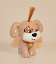 "2"" Brown Tan Puppy Dog Cabbage Patch Kids Lil Sprouts Pet Day Care PVC Figure"