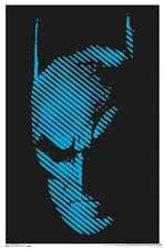 BATMAN - BLACKLIGHT POSTER - 24X36 FLOCKED DC COMICS 14409