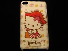Hello Kitty Cover Case for iPod Touch 4th Gen Hello Kitty Pirate Hat w/ Anchors