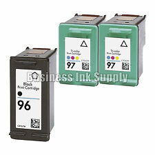 3 PK REMANUFACTURED HP 97 96 ink cartridge HP97 HP 96 Officejet 7210 7410
