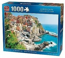 King Italy, Liguria, Manarola Jigsaw Puzzle 1000 Pieces - Brand New