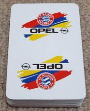 Bayern Munich Football Fever Playing Card Game - Opel Bayern Munchen