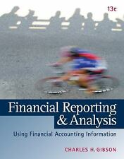 INTL Ed Financial Reporting and Analysis by Charles H. Gibson 13ed
