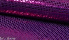Sparkling Sequin Fabric Material  Glitter Sparkle Colours 6mm sequins 115cm wide