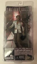 NIB NECA Resident Evil LAB COAT ZOMBIE! 10th Anniversary Series 2 Horror Figure