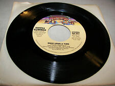 Donna Summer Once Upon A Time / I Love You 45 VG+ Juke Box