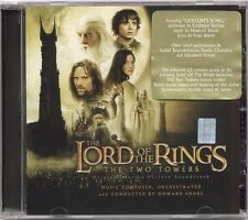 THE LORD OF THE RINGS THE TWO TOWERS SOUNDTRACK SEALED CD NEW