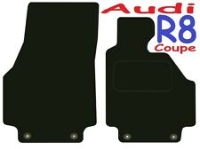 Audi R8 Tailored Deluxe Quality Car Mats 2007 Onwards Coupe & Spyder Convertible
